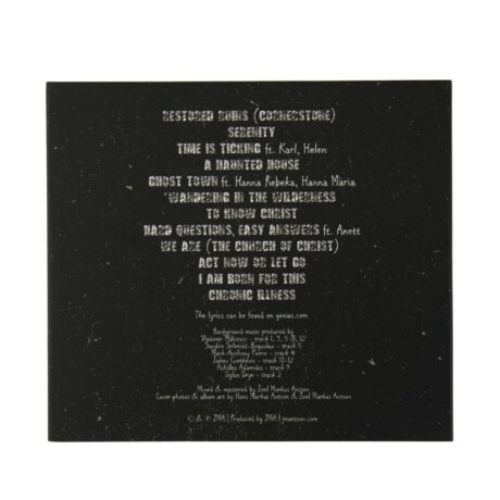 Restored Ruins CD back